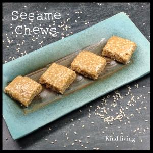 Sesame Sqaure Chews