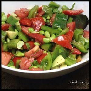 High Protein Veggie Salad