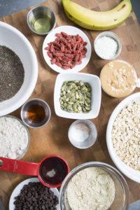 Vegan Breakfast Cookies Ingredients - Kind Living