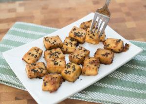 Crispy Tamari Tofu - Kind Living - Orillia