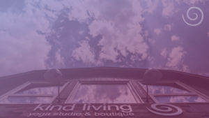 Kind Living Boutique with Sky - Purple Overlay