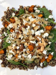 Sweet Potato Quinoa Bowl
