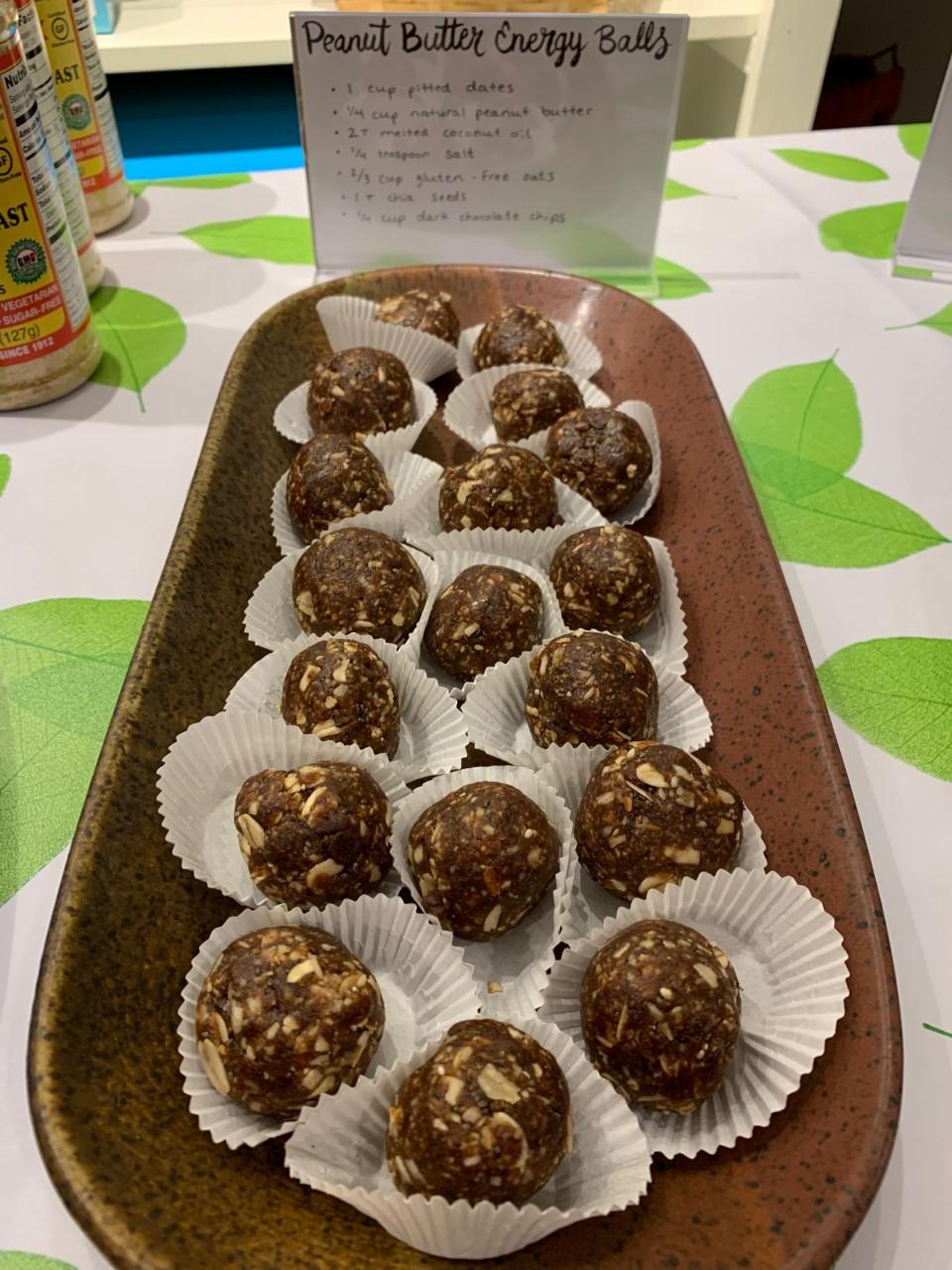 peanut butter energy balls